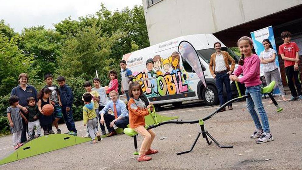 Spielmobil: Allgemeine Zeitung | Foto: Harald Linnemann